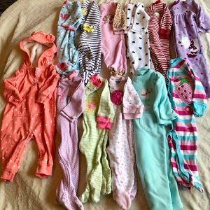 6-9 month pajama bundle